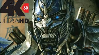 [4k][60FPS] Optimus prime vs  Lockdown Final Fight 4K 60FPS HFR[UHD] ULTRA HD