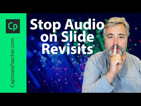 Stop Audio on Slide Revisits in Your Adobe Captivate eLearning