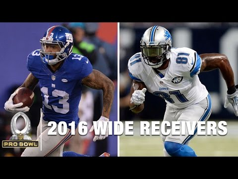 2016 Pro Bowl Wide Receivers | NFL