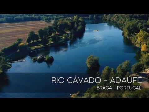 RIO CÁVADO - ADAÚFE  - BRAGA (Portugal) #bydrone