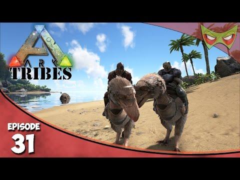 Ark: Tribes - Ep 31 - Terror Birds & Grapling Hooks! - Let's Play On Pooping Evolved