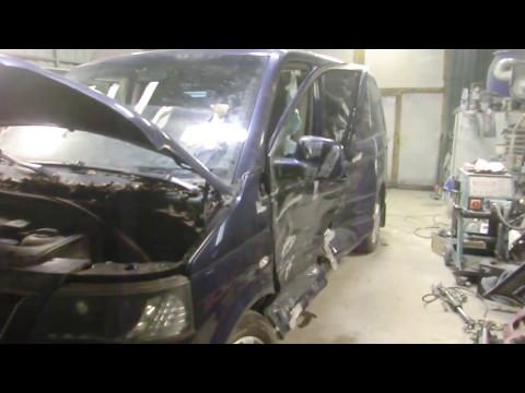 Кузовной ремонт микроавтобуса Volkswagen Multivan