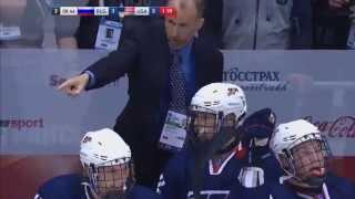 Russia - USA 4:3  Sochi U18. Россия  - США  4-3. Сочи. юниорский чемпионат Хоккей {jrrtq