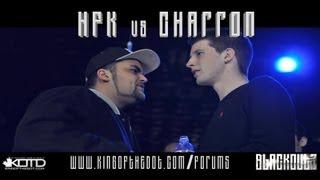 KOTD - Rap Battle - HFK vs Charron