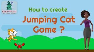 Jumping Cat game in Scratch 3.0 | Make games in Scratch | Game Development