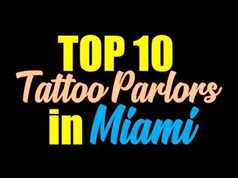 Tattoo Parlors In Miami | The Best Tattoo Shops In Miami
