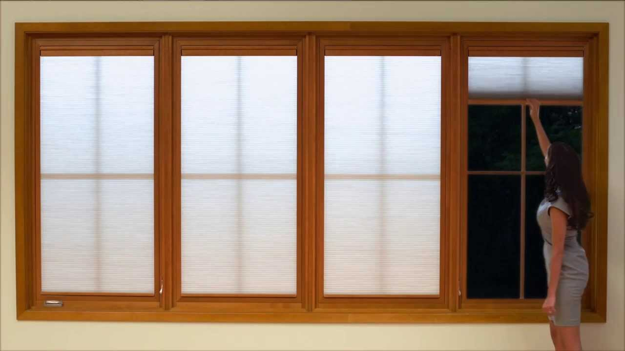 marvin shades in action the ultimate casement window youtube