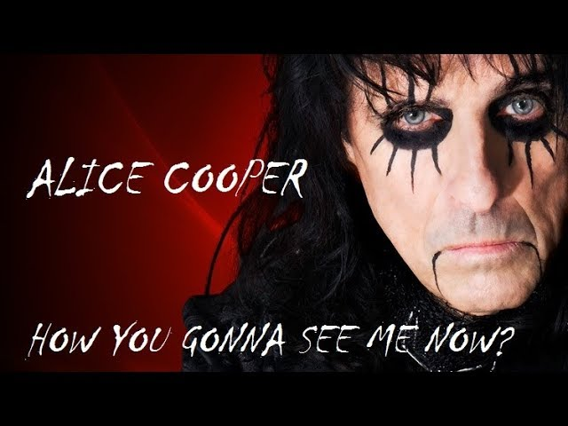 Alice Cooper How You Gonna See Me Now Legendas Ingles Portugues
