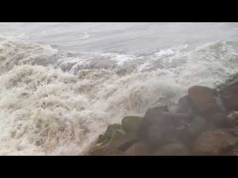 Fort Kochi Beach, Cochin in a rainy weather