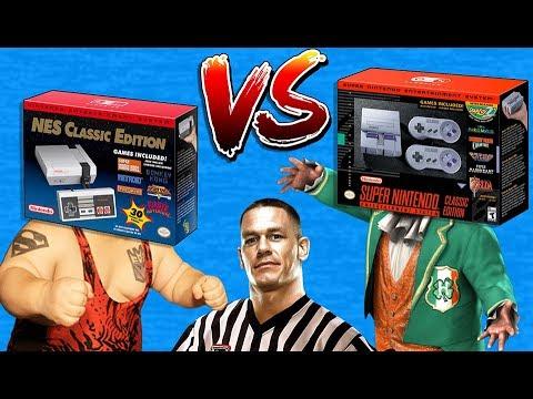 NES Classic Edition VS SNES Mini