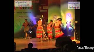 Yuva Tarang 2012 Central Zone Inter University Youth Festival  at Osmania University Video 3