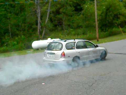 hyundai elantra station-wagon sweet burnout