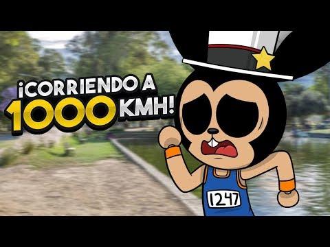 CORRIENDO A 1000 KMh EN ROBLOX !!