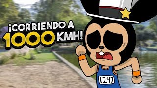running at 1000 km/h in ROBLOX!