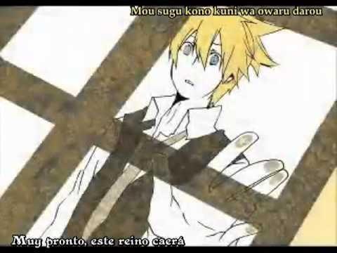 【mothy feat. Kagamine Len】The Servant of Evil【Sub. Español + Romaji】