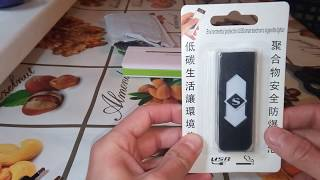 Супер аксессуар для курения электронная Usb перезаряжаемая зажигалка из Китая