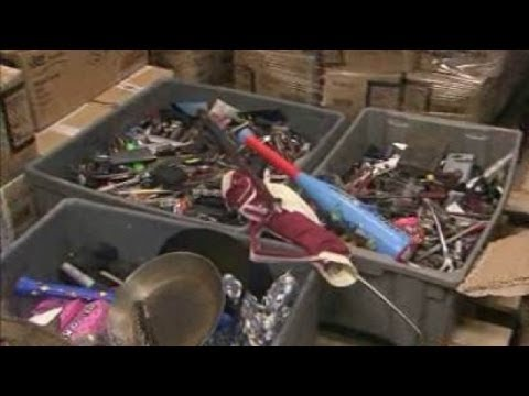 Video: Where your stuff goes when the TSA seizes it