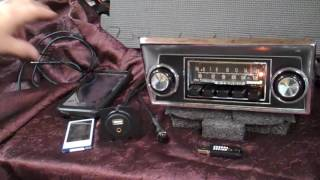 1968-72 Ford truck rare original AM/FM radio