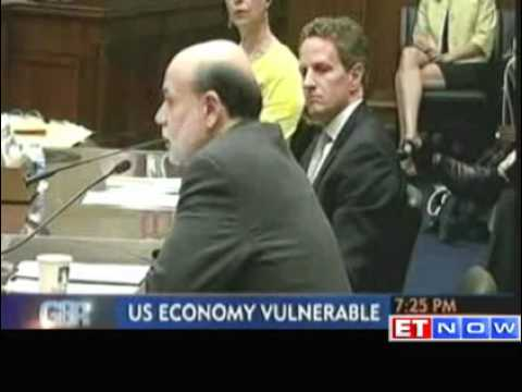 Ben Bernanke : US economy impacted by European crisis