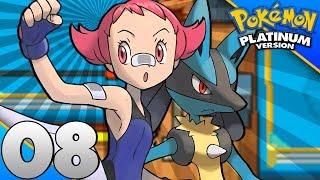 Detonado Pokémon Platinum #08 - A BATALHA CONTRA MAYLENE/DAWN PRECISA DE AJUDA (2017)