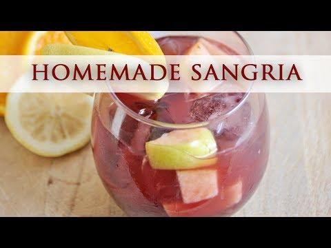 Homemade Spanish Sangria - Authentic Recipe