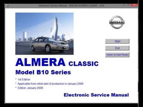 nissan almera classic b10 workshop service repair manual rh youtube com Nissan Sentra 2006 2014 Nissan Sentra
