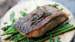 연어스테이크 / 캠핑요리 / 솔로캠핑 / Salmon …