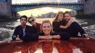 Karlie Kloss Plays Fifth Wheel To Taylor Swift and Joe Jonas' Double Date