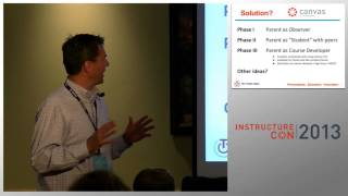 Using Canvas to Engage Parents in Their Childs Education | InstructureCon 2013