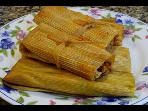 Chicken Tamales Red, Green Sauce, Cheese Tamales, Family Recipe!  How to make tamales!