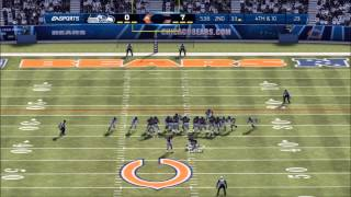 Madden 13: Seattle Seahawks vs. Chicago Bears - Flint Beastwood