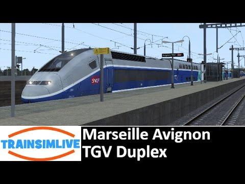 Let's Play Train Simulator 2016 - Marseille Avignon, TGV Duplex