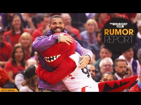NBA Holds Meeting With Toronto Raptors About Drake's Antics On The Court