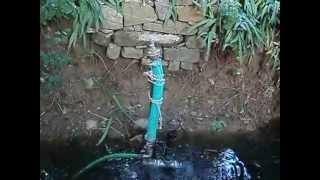 ΥΔΡΑΥΛΙΚΟΣ ΚΡΙΟΣ (ΑΝΤΛΙΑ ΝΕΡΟΥ ΧΩΡΙΣ ΡΕΥΜΑ) ram pump