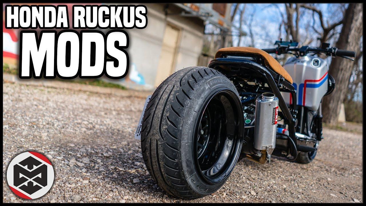 2016 Honda Ruckus Gy6 Mods Total Cost Youtube