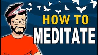 How To Meditate For Beginners (Animated)