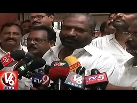 Telangana RTC Workers Gives Strike Notice | Hyderabad | V6 News