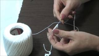 Needle Tatting True Ring