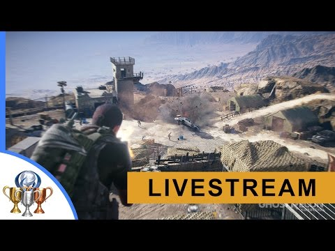 Ghost Recon Wildlands Walkthrough - Ocoro Province Livestream (El Emisario Boss)