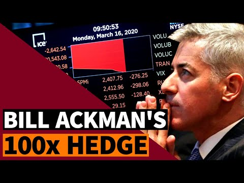 Bill Ackman's 100x Credit Default Swap Hedge - 2020 Stock Market Crash