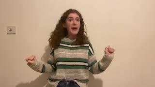 Niamh Docherty - A Chorus Line  Bruiser Monologue Competition
