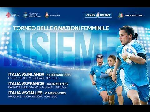 Italia - Irlanda: Women's Six Nation 2015 - 1^ giornata