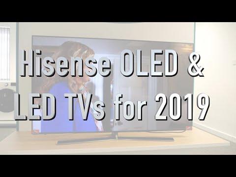 Hisense 2019 OLED and LED TV line up | The cheapest OLED TV?