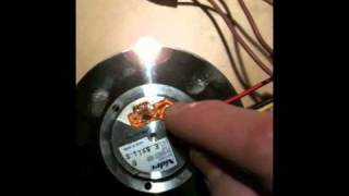 Running a hard drive motor