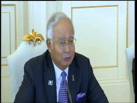 İlham Əliyevin və Malayziyanın Baş naziri Mohammad Najib Tun Abdul Razakın geniş tərkibdə görüşü