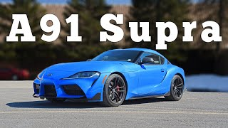 2021 Toyota Supra A91: Regular Car Reviews