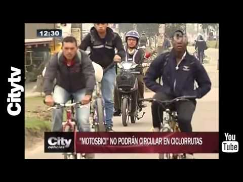 Citytv: Resolución para que Bicimotos puedan transitar en Bogotá.