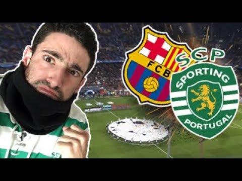 EM CAMP NOU RUMO AOS OITAVOS!!!! (Da Liga Europa) // Barcelona x Sporting [Vlog]