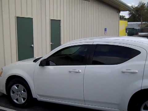Flying Window Tinters 2008 Dodge Avenger Tinted With