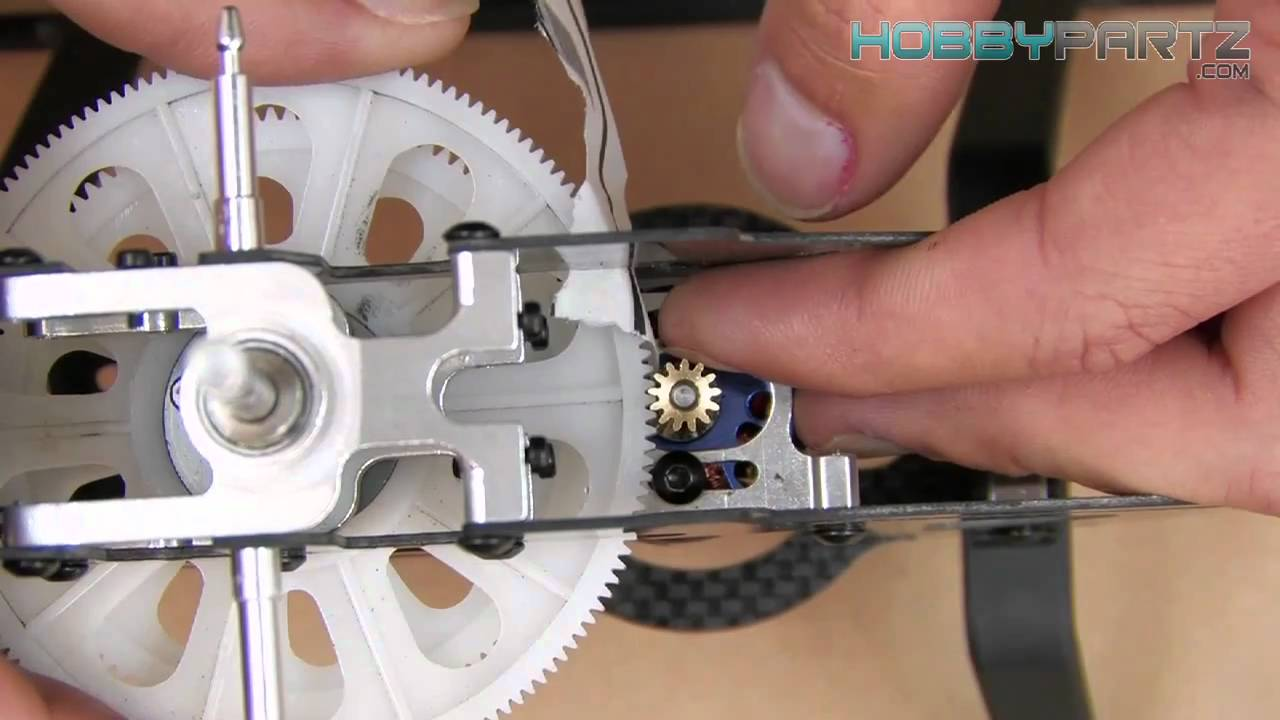 medium resolution of building an exi 450 pro rc helicopter part three